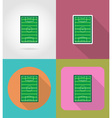 sport flat icons 41 vector image