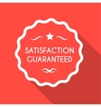 Satisfaction guarantee vector image