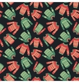 christmas sweater pattern vector image