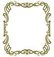 Frame design vector image
