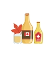 Maple Syrup As A National Canadian Culture Symbol vector image