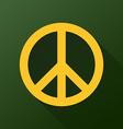 Peace emblem vector image