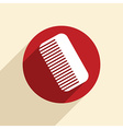 comb barbershop vector image