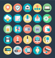 Communication Colored Icons 4 vector image