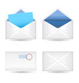 mails set vector image