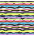 Seamless color stripes background vector image