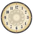 Horoscope Clock Face vector image vector image