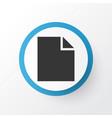 file icon symbol premium quality isolated folder vector image