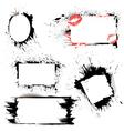 frames grunge 380 vector image