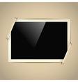 Photoalbum frame vector image