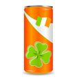 Saint Patrick's can vector image