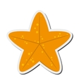 cute starfish icon vector image