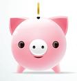 bank pig vector image