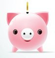 bank pig vector image