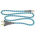 Cord and plug vector image