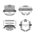 Gentleman club vector image