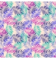 Leaves seamless pattern set vector image