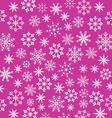 Noel pink wallpaper snowflakes texture - vector image