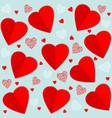 seamless pattern element valentines vector image