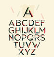 vintage typography vector image vector image