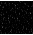Rain seamless pattern silver 1 vector image