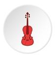 Cello icon cartoon style vector image