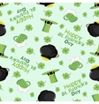 Patricks day Background Seamless vector image
