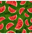 Triangle watermelon abstract seamless pattern vector image