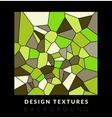 Abstact voronoi design background vector image
