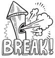 Break vector image