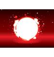 glowing lights vector image