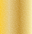gold dot texture vector image