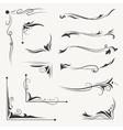 Elegant Arabic Vignettes vector image