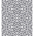 Grey lacing ornamented pattern with Swedish motifs vector image