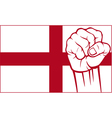 england fist vector image