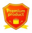 Retro premium product label vector image vector image