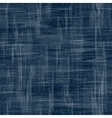 Jeans background with flowers Denim vector image