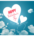 Lovely Valentines day card vector image