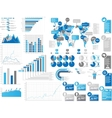 INFOGRAPHICS ELEMENTS 3 BLIE vector image vector image