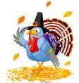 pilgrim turkey vector image vector image