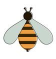 cute bee symbol vector image