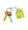 Keys on Key Ring vector image