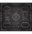 Set of Chalkboard Banners vector image vector image