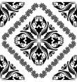 baroque ornaments vector image vector image