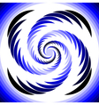 Design abstract circular whirl movement background vector image