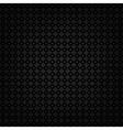 Black metallic texture template vector image vector image