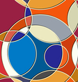 Abstract geometric seamless texture vector image