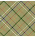 heckered diagonal plaid seamless pattern vector image