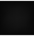 Black metallic texture vector image