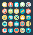 Education Colored Icons 3 vector image